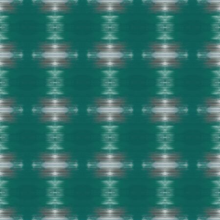 seamless deco pattern background. teal green, dark gray and slate gray colors. repeatable texture for wallpaper, presentation or fashion design.