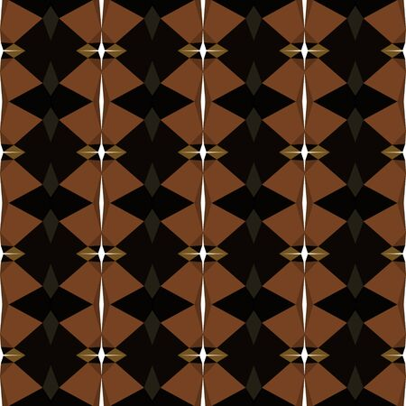 seamless repeatable pattern light with black, saddle brown and antique white colors.