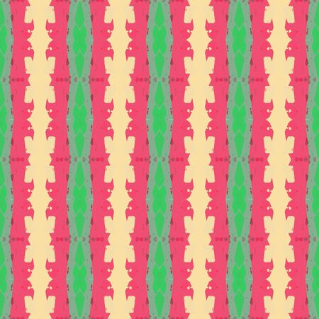 abstract seamless pattern with moderate pink, skin and medium sea green colors. endless texture for wallpaper, creative or fashion design.