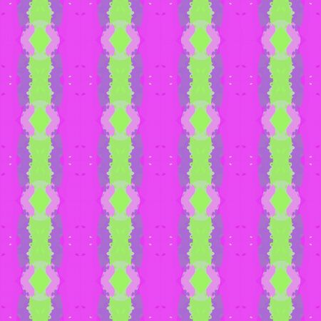 colorful seamless pattern with light green, orchid and medium purple colors. endless texture for wallpaper, creative or fashion design. Stock Photo