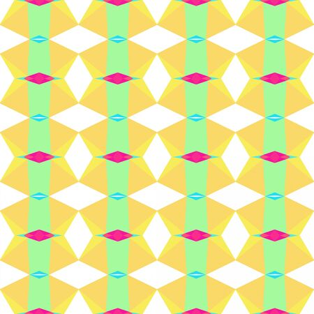 abstract seamless pattern with khaki, pale green and deep pink colors.