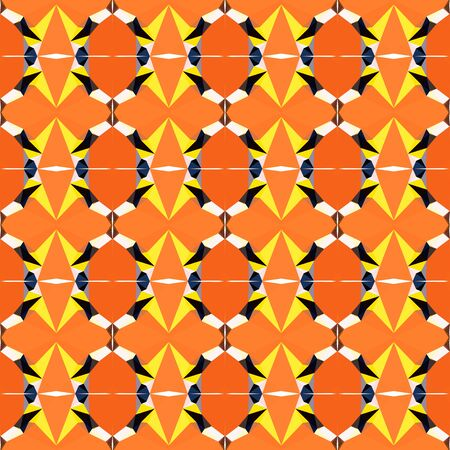 simple seamless abstract pattern with tomato, very dark pink and khaki colors.