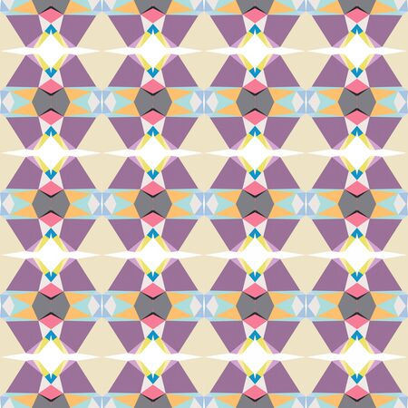 seamless repeatable pattern abstract with tan, antique fuchsia and wheat colors.