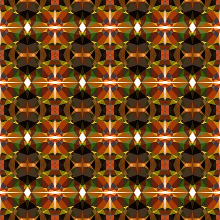 seamless repeating pattern wallpaper with chocolate, bronze and black colors. Banco de Imagens