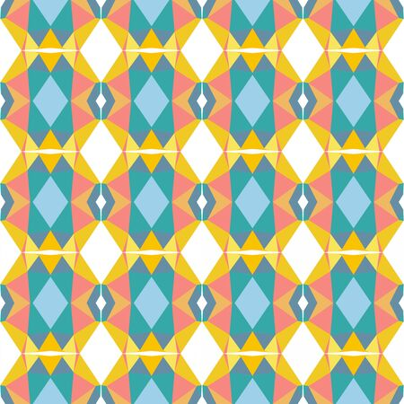 seamless pattern background with cadet blue, light blue and vivid orange colors.