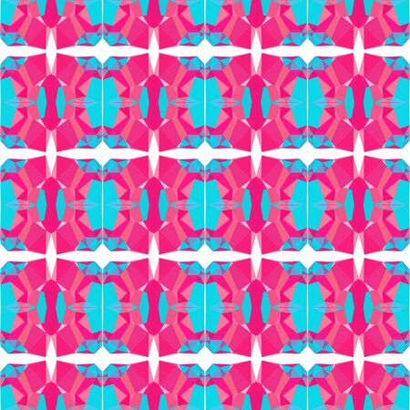 seamless repeatable pattern simple with deep pink, dark turquoise and pastel pink colors.