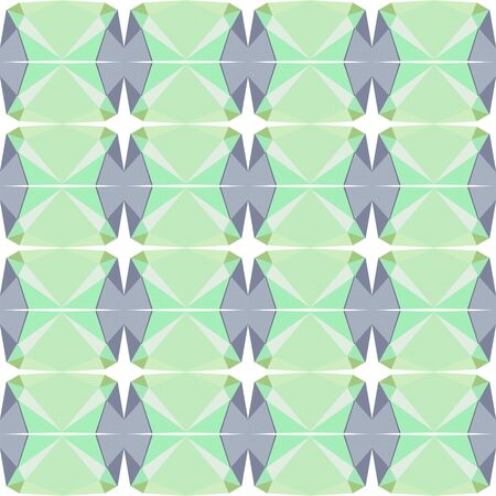 seamless repeating pattern texture with tea green, pastel gray and light slate gray colors. Foto de archivo - 129709106