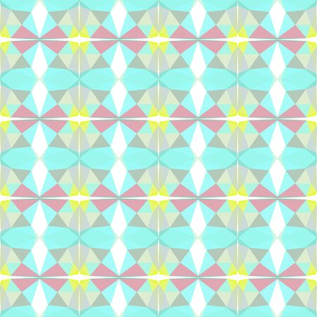 seamless repeating pattern simple with powder blue, pastel gray and pale turquoise colors. Foto de archivo - 129709141