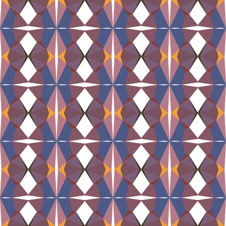 seamless pattern light with old lavender, antique fuchsia and dark slate blue colors. Foto de archivo - 129709251