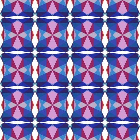 seamless pattern simple with dark slate blue, pastel violet and dark moderate pink colors.