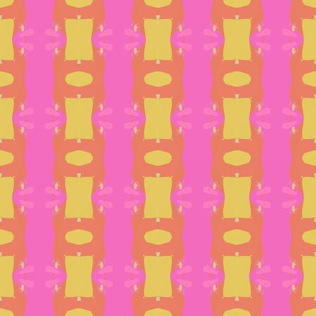 abstract seamless pattern with hot pink, salmon and burly wood colors. endless texture for wallpaper, creative or fashion design.