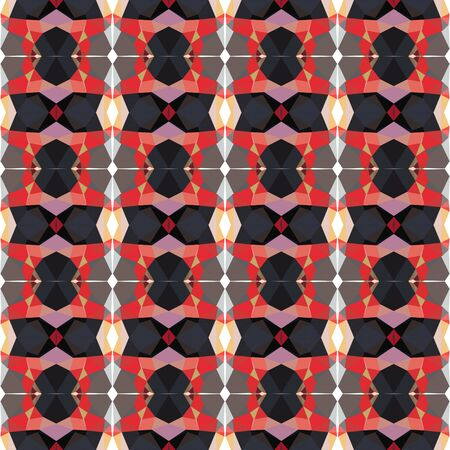 seamless pattern background with indian red, moderate red and very dark violet colors. Stock Photo