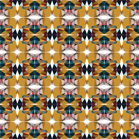 seamless repeating pattern design with bronze, very dark blue and silver colors.