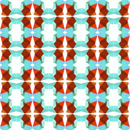 seamless pattern simple with sky blue, saddle brown and white smoke colors. Banco de Imagens