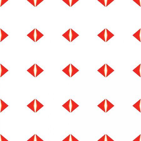 seamless wallpaper design pattern with crimson, sea shell and tomato colors. 写真素材