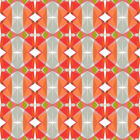 seamless pattern background with pastel gray, tomato and light coral colors.
