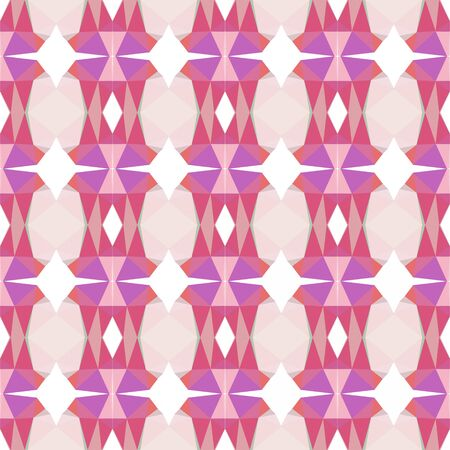 seamless repeating pattern wallpaper with pale violet red, pastel pink and tan colors. Foto de archivo - 129709948