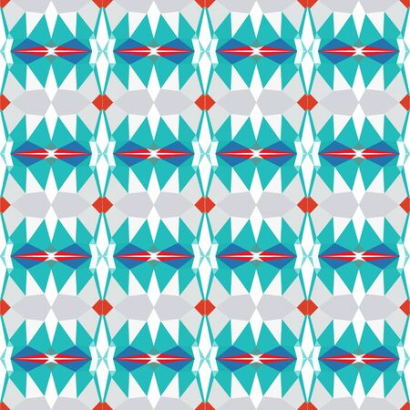 seamless pattern wallpaper with light sea green, lavender and crimson colors.