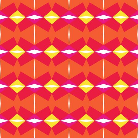 seamless pattern simple with crimson, pastel orange and tomato colors.