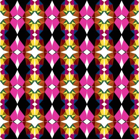 seamless pattern light with black, khaki and saddle brown colors.