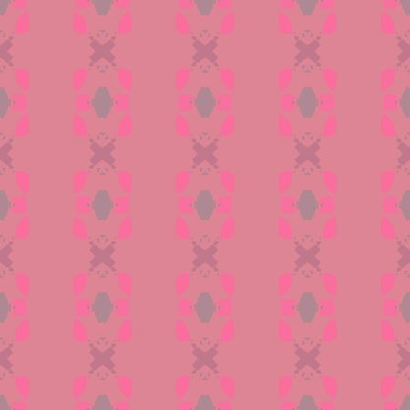 colorful seamless pattern with pale violet red, hot pink and rosy brown colors. endless texture for wallpaper, creative or fashion design.