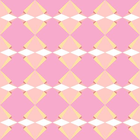 seamless repeatable pattern background with light pink, navajo white and baby pink colors.