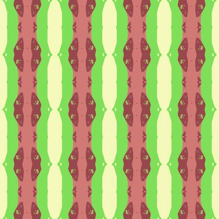 seamless pattern with pastel green, lemon chiffon and indian red colors. repeatable texture for wallpaper, creative or fashion design.