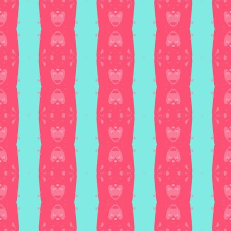 colorful seamless pattern with pastel red, aqua marine and light coral colors. endless texture for wallpaper, creative or fashion design.
