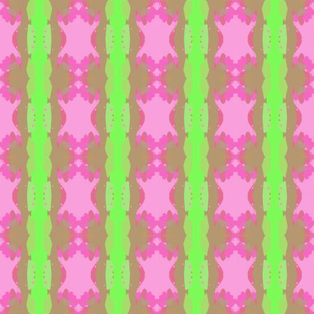 abstract seamless pattern with rosy brown, pastel magenta and pastel green colors. endless texture for wallpaper, creative or fashion design.