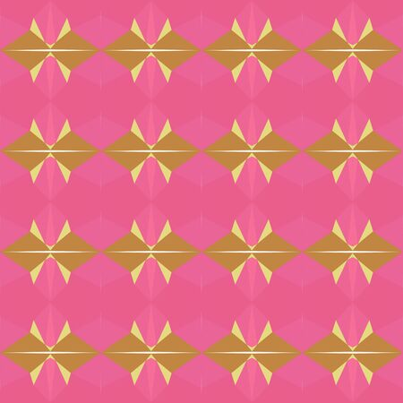 seamless repeating pattern simple with pale violet red, peru and khaki colors. Imagens