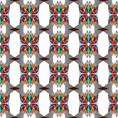 seamless pattern background with pastel brown, gray gray and dark cyan colors.