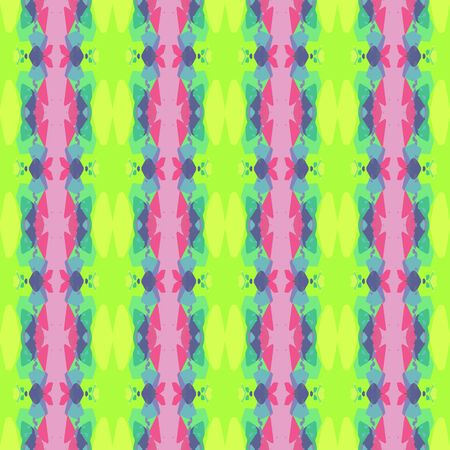 abstract seamless pattern with green yellow, pastel purple and blue chill colors. endless texture for wallpaper, creative or fashion design.