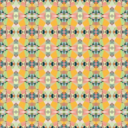 seamless repeatable pattern background with tan, dark slate gray and pastel orange colors.