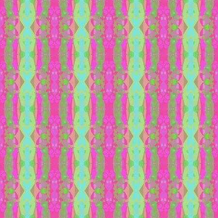 abstract seamless pattern with dark sea green, neon fuchsia and light pastel purple colors. endless texture for wallpaper, creative or fashion design.