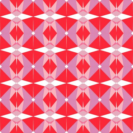 seamless repeating pattern background with pastel magenta, crimson and white smoke colors. Imagens