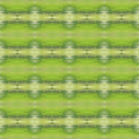 seamless deco pattern background. yellow green, tea green and pastel brown colors. repeatable texture for wallpaper, presentation or fashion design.