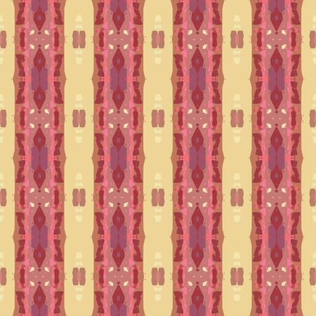 colorful seamless pattern with indian red, khaki and dark moderate pink colors. endless texture for wallpaper, creative or fashion design. Imagens