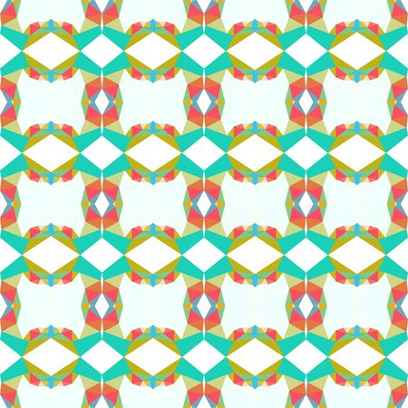 seamless wallpaper pattern with light sea green, golden rod and mint cream colors.