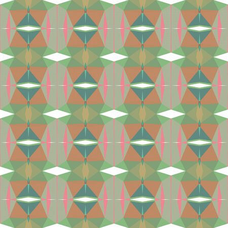 seamless repeatable pattern design with rosy brown, dark khaki and slate gray colors.