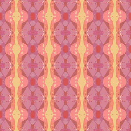 colorful seamless pattern with pale violet red, burly wood and light coral colors. endless texture for wallpaper, creative or fashion design.