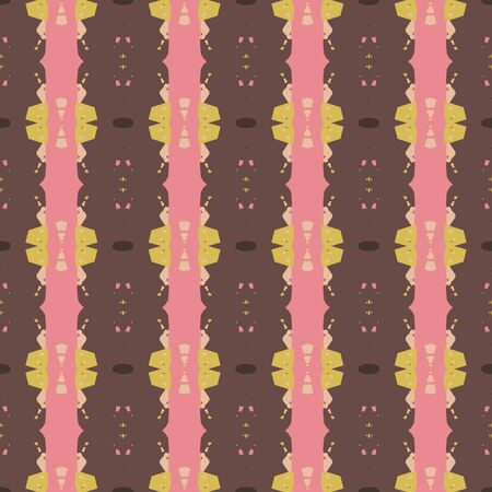 abstract seamless pattern with dark salmon, old mauve and pastel brown colors. endless texture for wallpaper, creative or fashion design. 写真素材