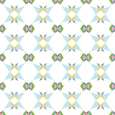 seamless wallpaper design pattern with light gray, powder blue and sandy brown colors.