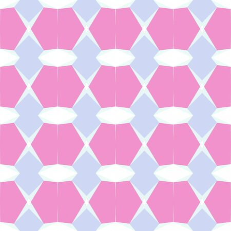 seamless pattern abstract with pastel magenta, lavender blue and honeydew colors. Stock Photo