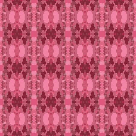 colorful seamless pattern with indian red, dark moderate pink and hot pink colors. endless texture for wallpaper, creative or fashion design. Stock Photo