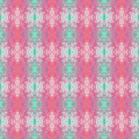 colorful seamless pattern with rosy brown, light gray and medium aqua marine colors. can be used for wallpaper, creative art or fashion design. Stockfoto
