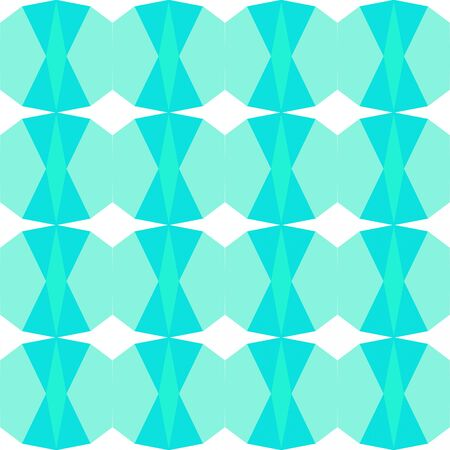 seamless pattern abstract with aqua marine, bright turquoise and alice blue colors. Imagens
