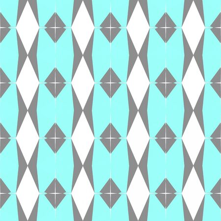 seamless geometric pattern with gray gray, pale turquoise and white smoke colors.