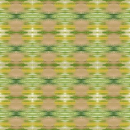 seamless pattern element with dark khaki, dark olive green and wheat colors. endless texture for wallpaper, creative or fashion design. Imagens