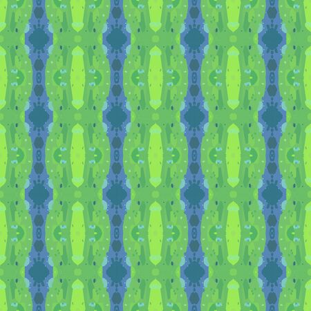 colorful seamless pattern with pastel green, cadet blue and teal blue colors. endless texture for wallpaper, creative or fashion design. Imagens