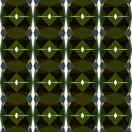 seamless repeating pattern wallpaper with very dark green, rosy brown and dark slate gray colors.